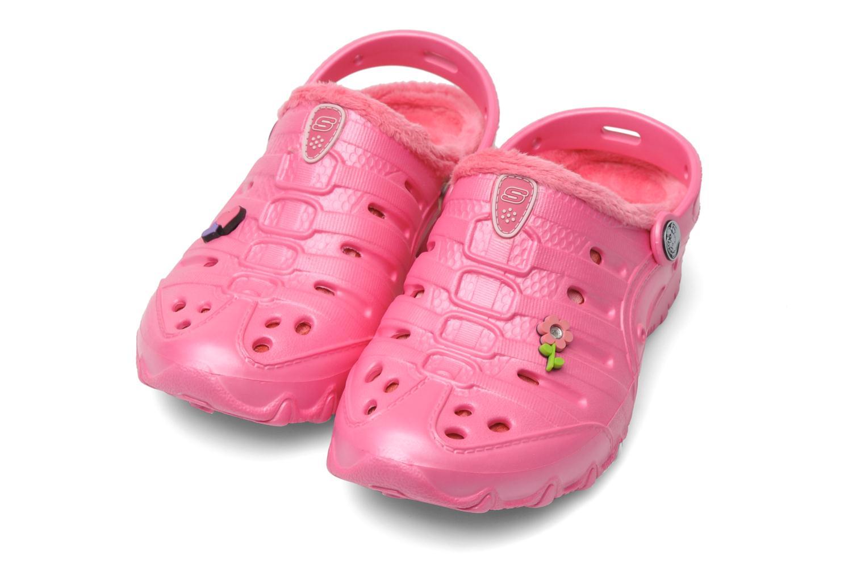 Sandales et nu-pieds Skechers Cali Gear Darling E Rose vue 3/4