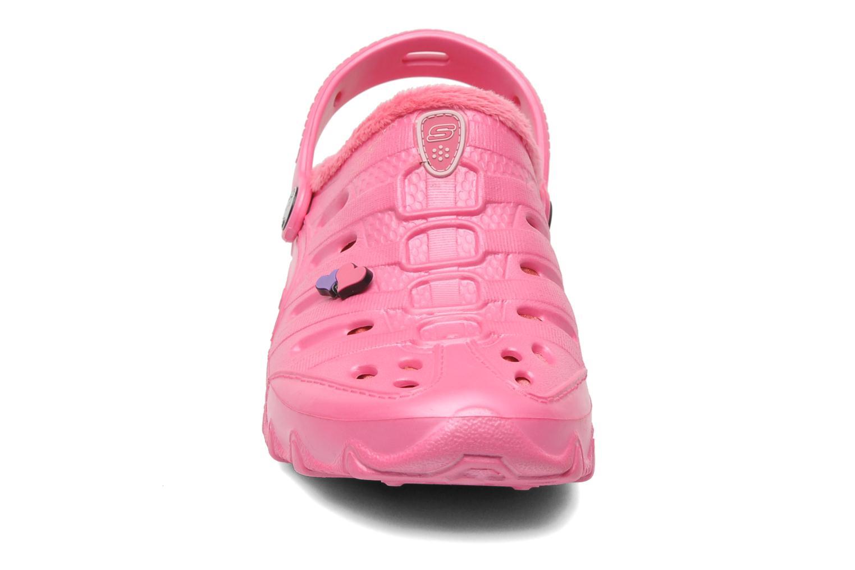 Sandales et nu-pieds Skechers Cali Gear Darling E Rose vue portées chaussures