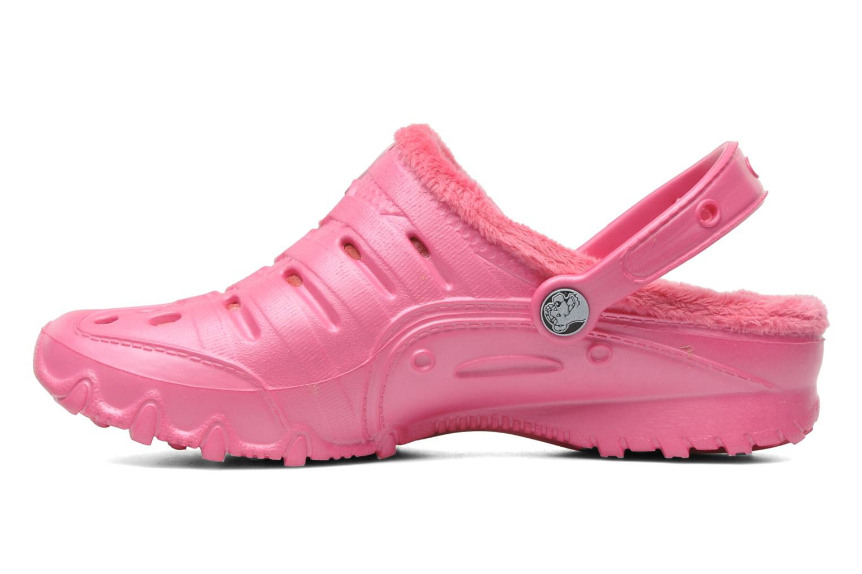 Sandales et nu-pieds Skechers Cali Gear Darling E Rose vue face