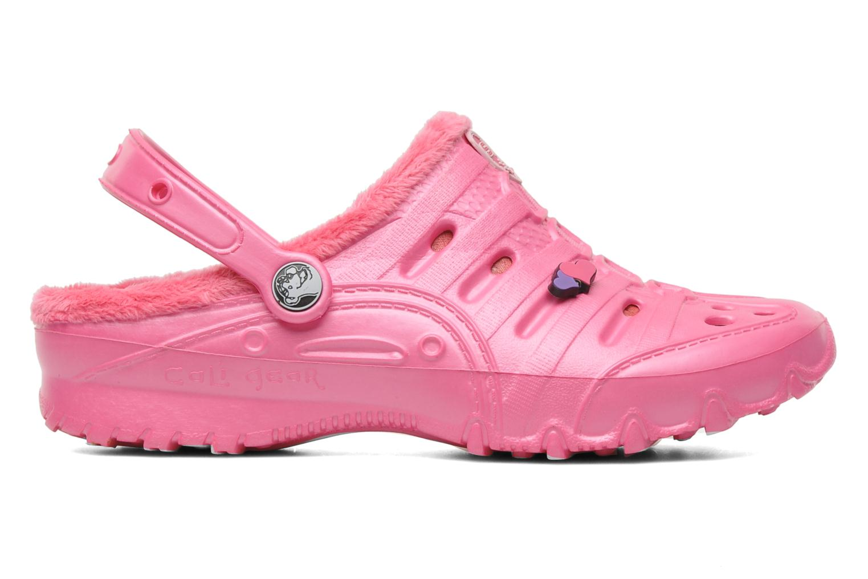 Sandales et nu-pieds Skechers Cali Gear Darling E Rose vue derrière