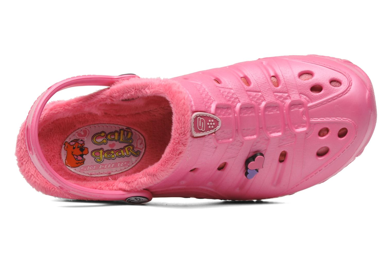 Sandales et nu-pieds Skechers Cali Gear Darling E Rose vue gauche