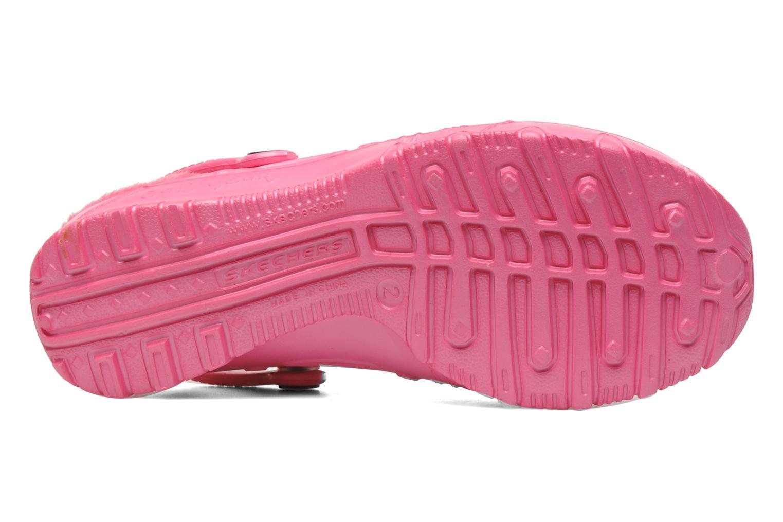 Sandales et nu-pieds Skechers Cali Gear Darling E Rose vue haut