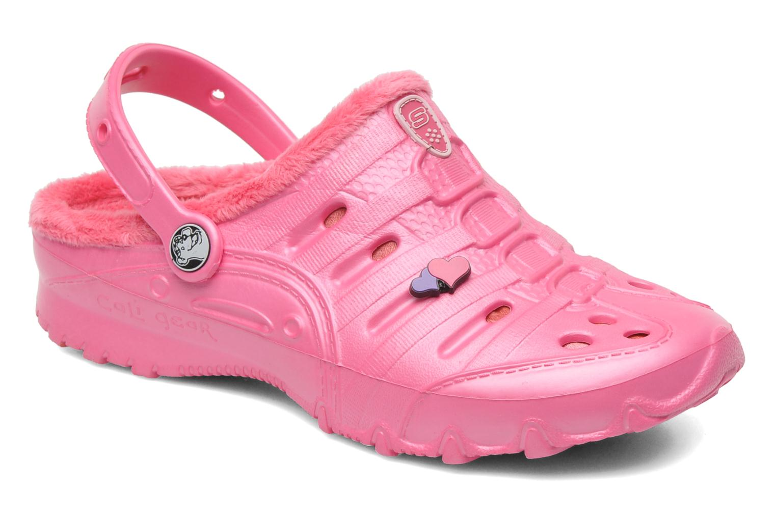 Sandals Skechers Cali Gear Darling E Pink detailed view/ Pair view