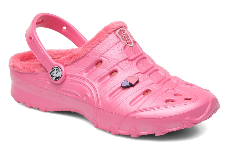 Sandales et nu-pieds Skechers Cali Gear Darling E Rose vue détail/paire