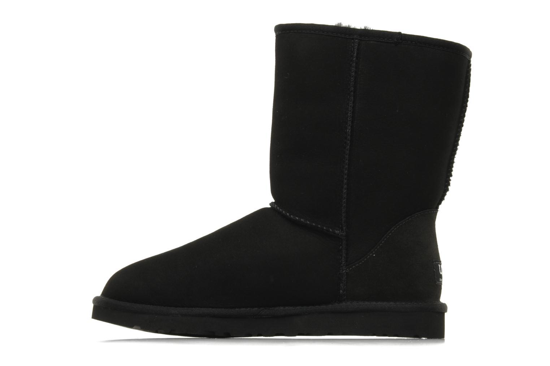 Bottines et boots UGG Classic Short M Noir vue face