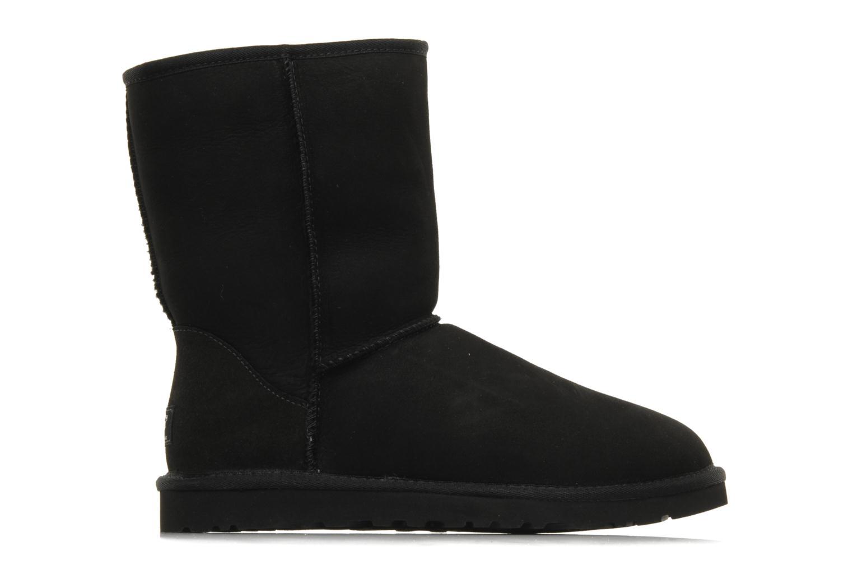 Bottines et boots UGG Classic Short M Noir vue derrière