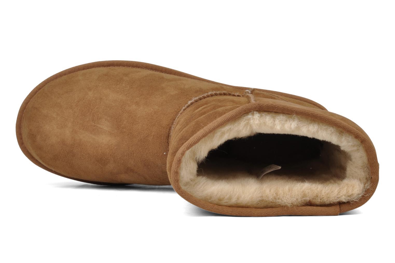 Bottines et boots UGG Classic Short M Beige vue gauche