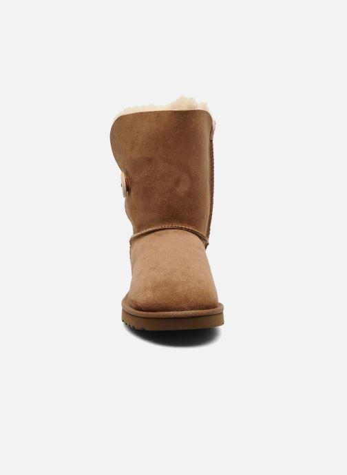 Bottines et boots UGG Bailey Button Marron vue portées chaussures