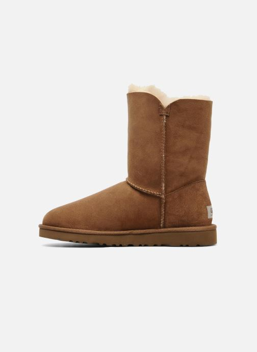 Bottines et boots UGG Bailey Button Marron vue face