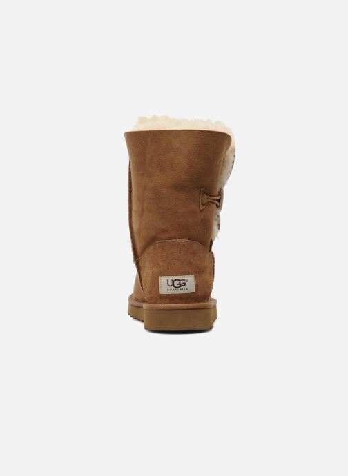 Bottines et boots UGG Bailey Button Marron vue droite
