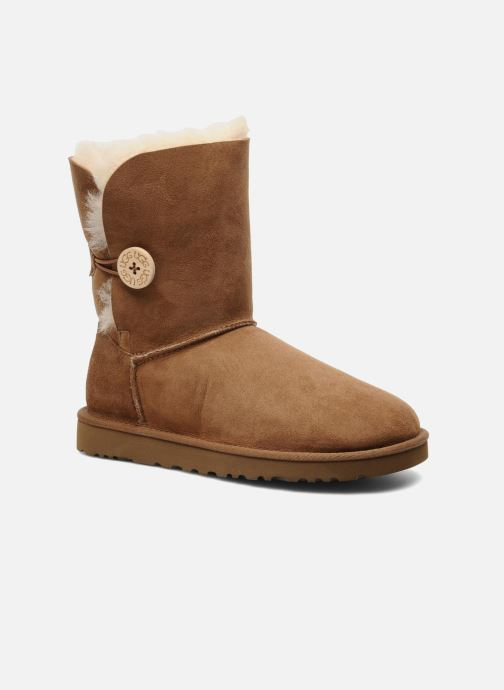 Bottines et boots UGG Bailey Button Marron vue détail/paire