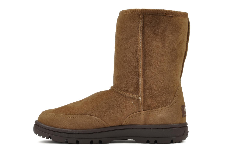 Bottines et boots UGG Ultra Short W Marron vue face