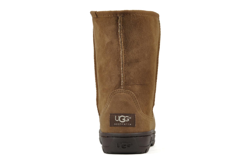 Bottines et boots UGG Ultra Short W Marron vue droite