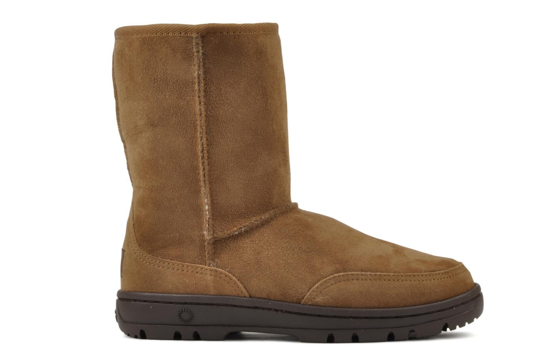 Bottines et boots UGG Ultra Short W Marron vue derrière