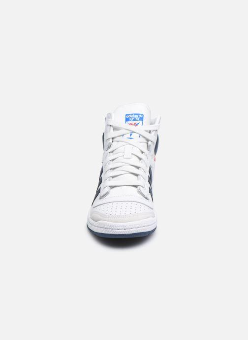 Deportivas adidas originals Top Ten Hi W Blanco vista del modelo