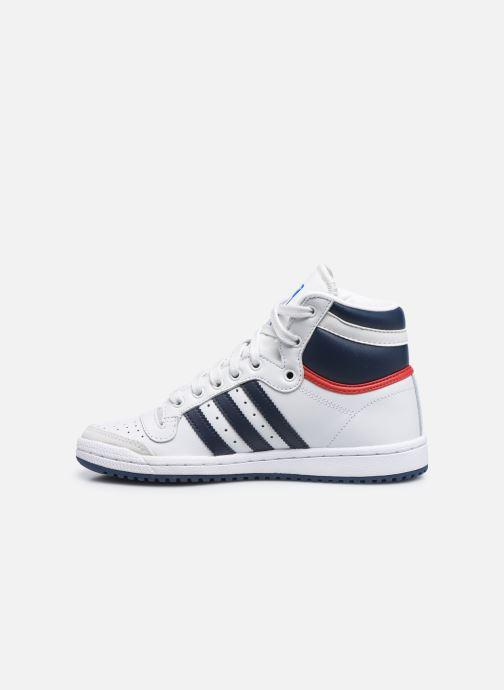 Deportivas adidas originals Top Ten Hi W Blanco vista de frente
