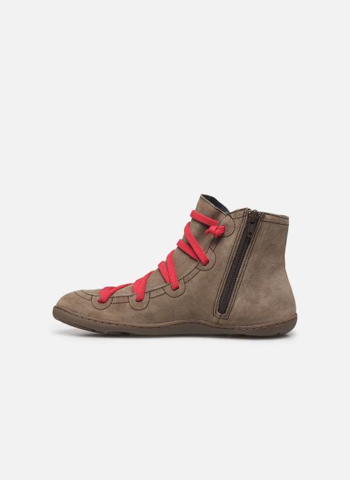 Stiefeletten & Boots Camper Peu Cami 46104 braun ansicht von vorne