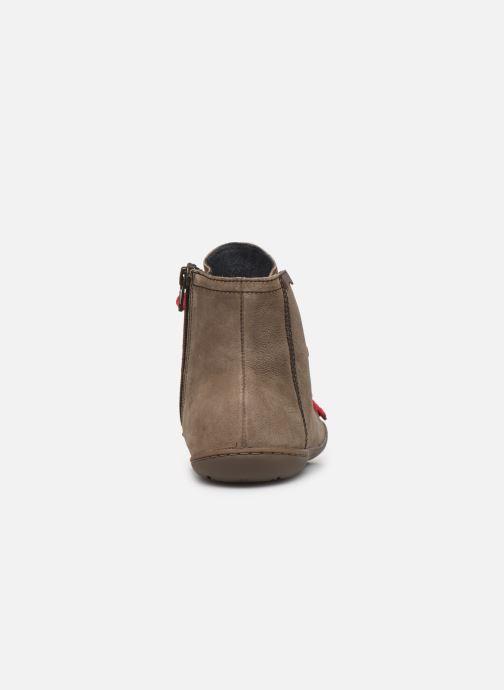 Bottines et boots Camper Peu Cami 46104 Marron vue droite