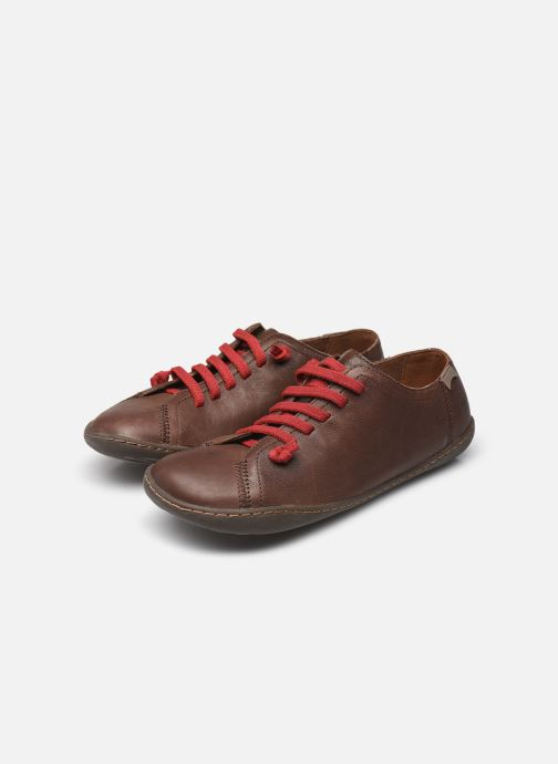 Trainers Camper Peu Cami 20848 Brown view from underneath / model view