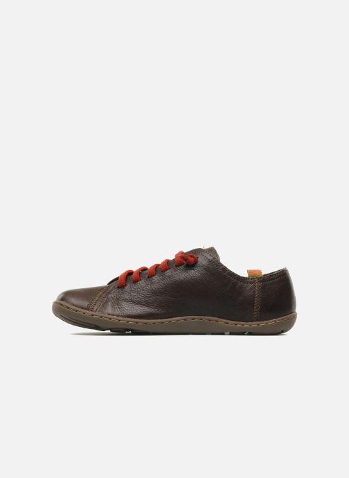 Sneakers Camper Peu Cami 20848 Marrone immagine frontale