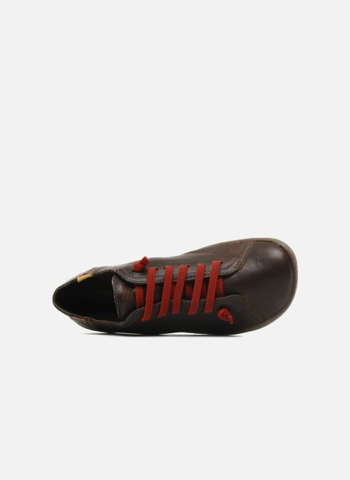 Sneakers Camper Peu Cami 20848 Marrone immagine sinistra