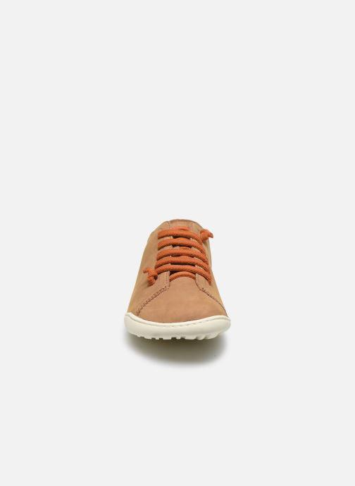 Sneakers Camper Peu Cami 20848 Beige modello indossato