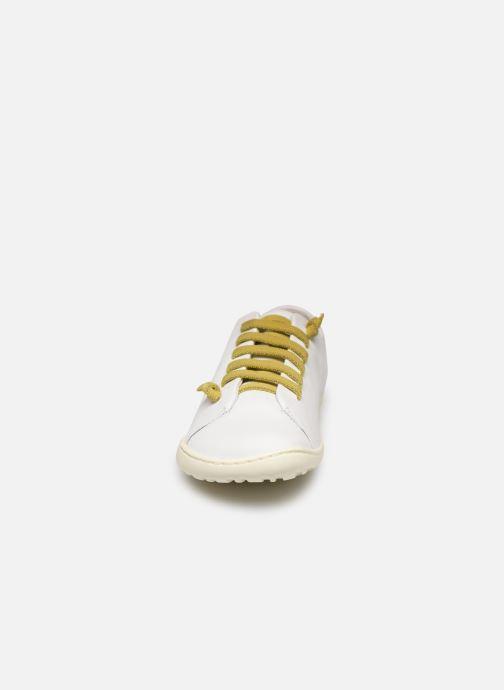 Baskets Camper Peu Cami 20848 Blanc vue portées chaussures