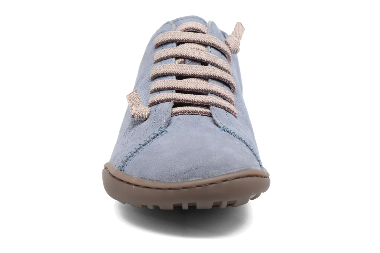 Baskets Camper Peu Cami 20848 Bleu vue portées chaussures