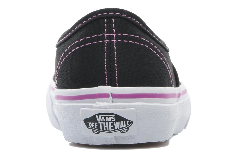 Sneakers Vans Authentic BB Zwart rechts