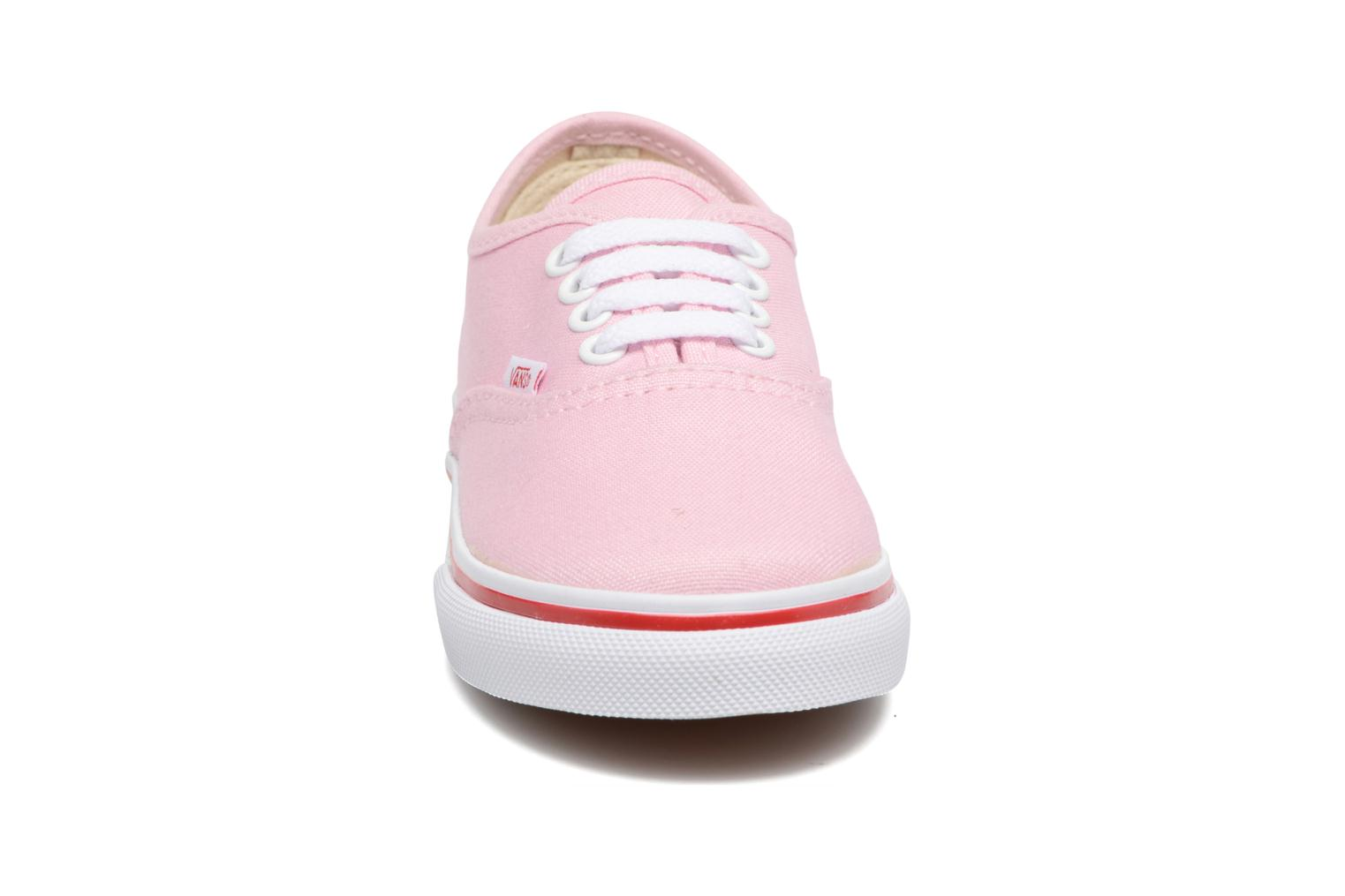 Trainers Vans Authentic BB Pink model view