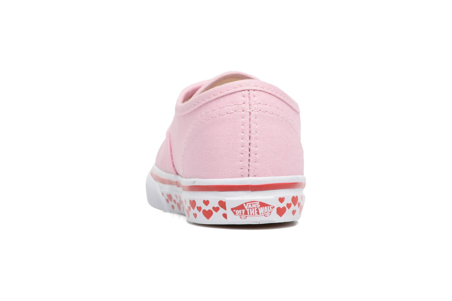 Trainers Vans Authentic BB Pink view from the right