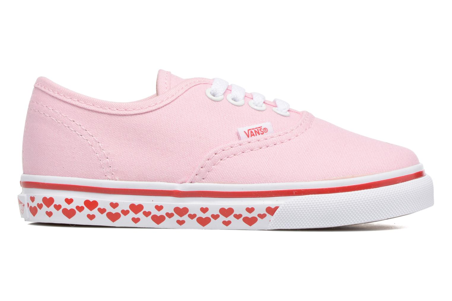 Trainers Vans Authentic BB Pink back view
