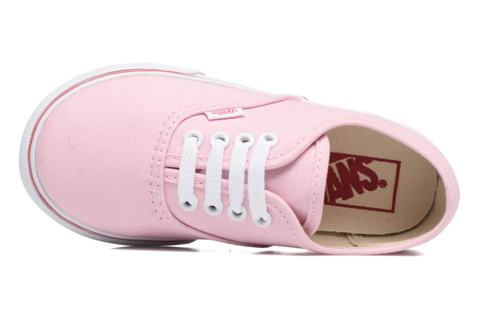 Trainers Vans Authentic BB Pink view from the left