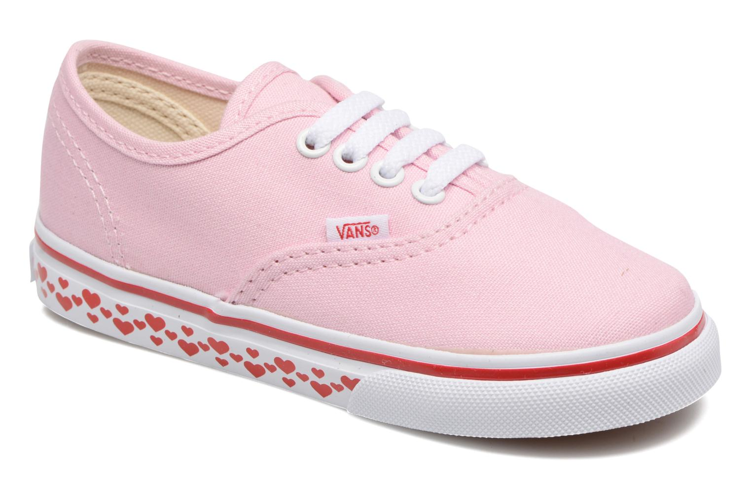 Trainers Vans Authentic BB Pink detailed view/ Pair view