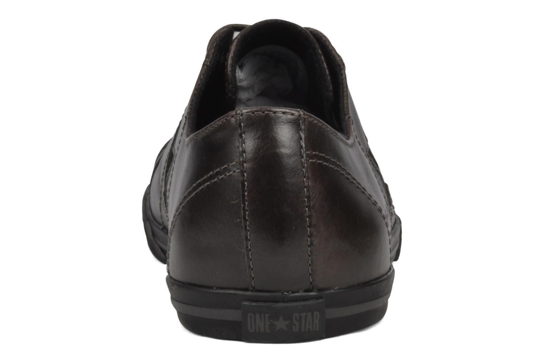 Baskets Converse OS Low Profile Ox W Marron vue droite
