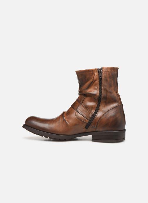 Støvler & gummistøvler Base London Metal Brun se forfra