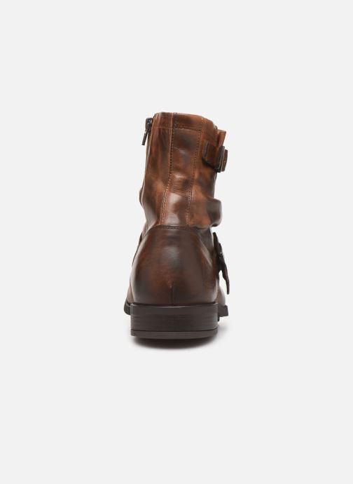 Støvler & gummistøvler Base London Metal Brun Se fra højre