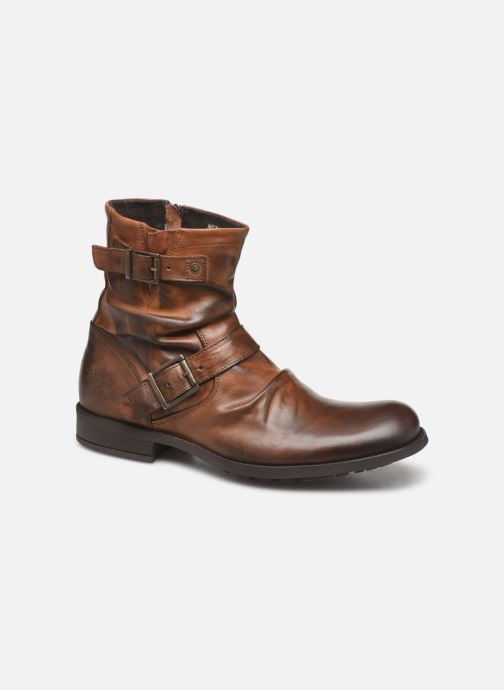 Boots & wellies Base London Metal Brown detailed view/ Pair view