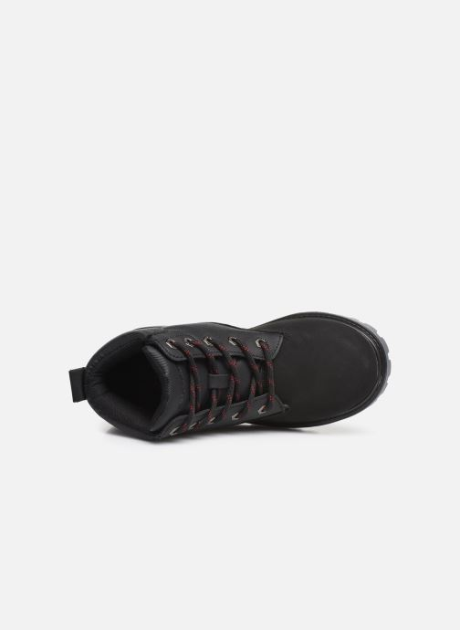 Lace-up shoes Skechers Mecca Black view from the left