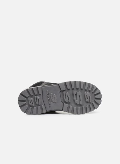 Chaussures à lacets Skechers Mecca Noir vue haut