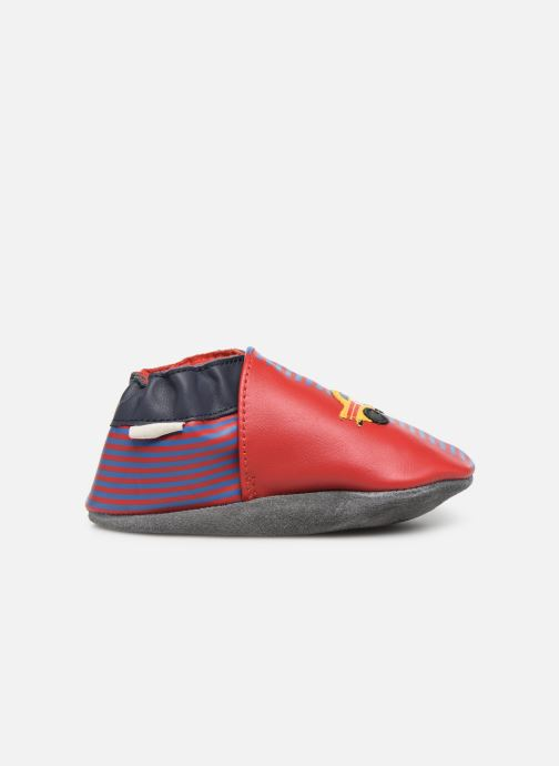 Pantofole Robeez Race Car Rosso immagine posteriore
