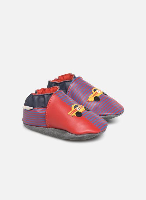 Pantofole Robeez Race Car Rosso vedi dettaglio/paio