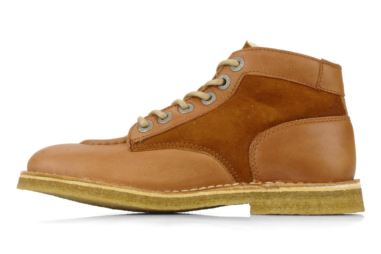 Bottines et boots Kickers Kick legend H Marron vue face