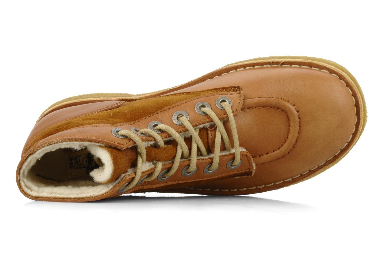 Bottines et boots Kickers Kick legend H Marron vue gauche