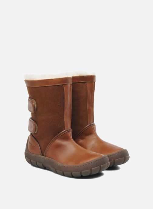 Boots & wellies Pom d Api Piwi Chabraque Brown 3/4 view
