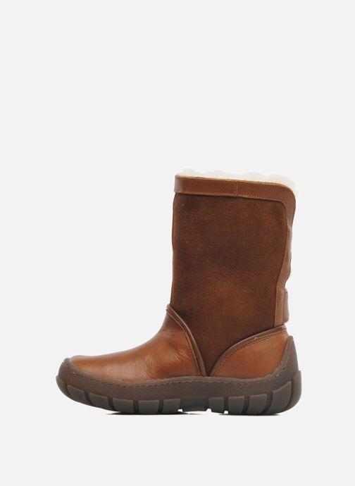 Støvler & gummistøvler Pom d Api Piwi Chabraque Brun se forfra