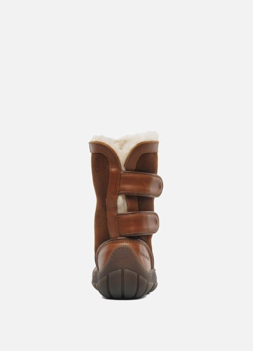 Boots & wellies Pom d Api Piwi Chabraque Brown view from the right