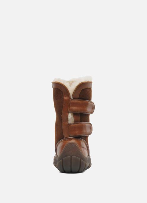 Støvler & gummistøvler Pom d Api Piwi Chabraque Brun Se fra højre