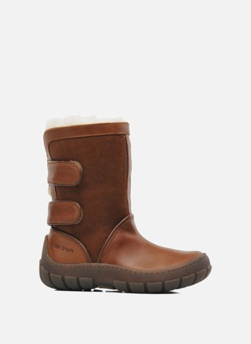 Boots & wellies Pom d Api Piwi Chabraque Brown back view