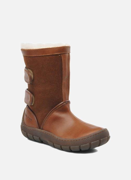 Støvler & gummistøvler Pom d Api Piwi Chabraque Brun detaljeret billede af skoene